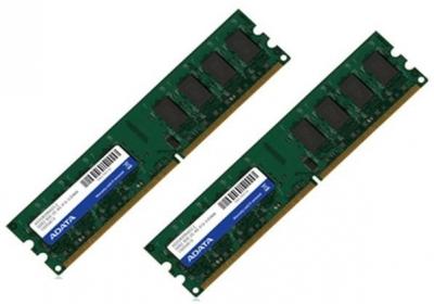 ADATA  DDR2  2x2GB 800MHz CL6 DIMM 1.8V (AD2U800B2G6-2)