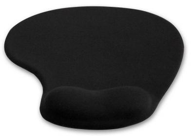 4World 10099 zselés csuklótámaszos fekete egérpad