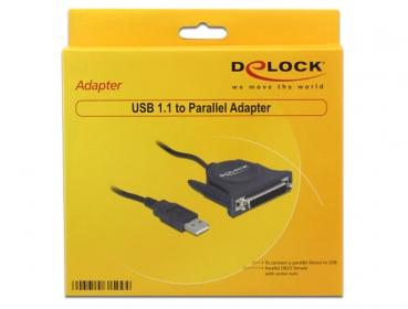 Delock 61509 USB párhuzamos adapter