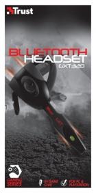 Trust GXT 320 bluetooth mikrofonos fekete gamer headset (19670)