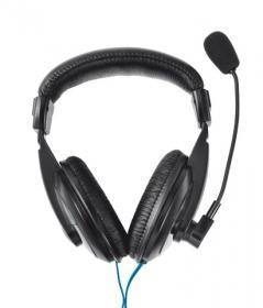 TRUST Quasar mikrofonos fekete fejhallgató (16904)