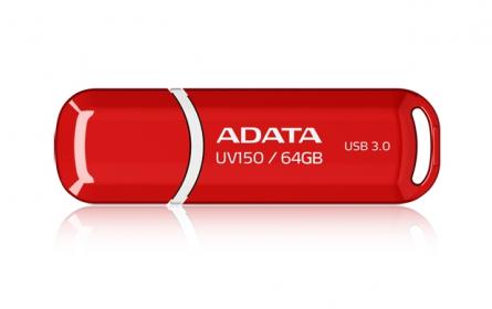 Adata Flashdrive DashDrive UV150 64 GB Piros (AUV150-64G-RRD)