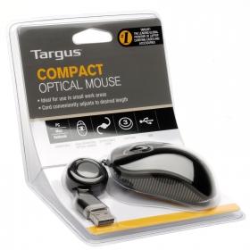 Targus AMU75EU USB optikai fekete  egér
