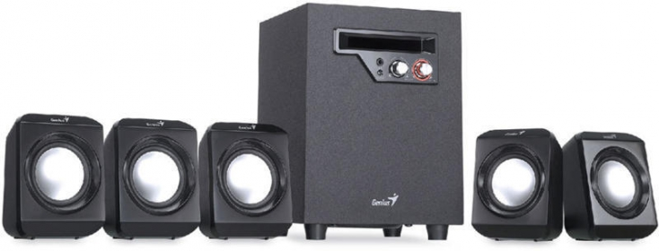 GENIUS SW-5.1 1020 Fekete Hangszóró