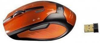 HAMA GDM Milano wireless optikai narancssárga egér (52390)