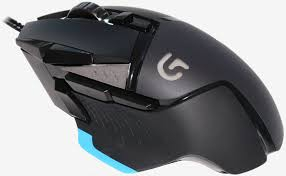 Logitech G502 Proteus Spectrum RGB USB optikai fekete-kék gamer egér (910-004617)