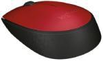 Logitech  M171 wireless optikai piros egér (910-004641)