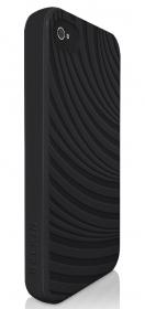 Belkin F8W034cwC00-2 iPhone4 fekete/fehér iPhone telefontok