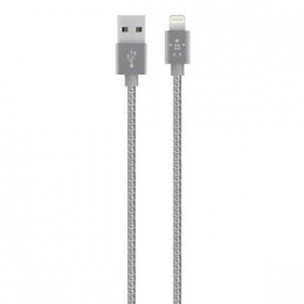 Belkin MIXIT UP Metallic Apple Lightning 1,2m ezüst kábel (F8J144BT04-SLV)