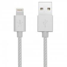 Belkin MIXIT UP Metallic Apple Lightning 1,2m ezüst kábel (F8J144BT04-SLV)