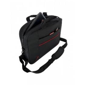 MODECOM YORK T001 Notebook táska 17''-18'' Fekete-Piros (TOR-MC-YORK-T001-17)