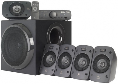 LOGITECH Z906 Surround Sound Speakers (980-000468)