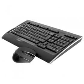 A4Tech V-TRACK 9300F USB angol billentyűzet+egér (A4TKLA41221)