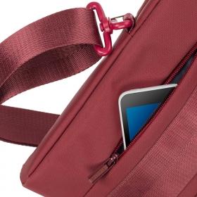 RivaCase 8830 Hyde 15,6'' Piros Notebook Táska (6901812088306)