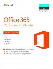 Microsoft Office 365 Otthoni verzió (6GQ-00802)
