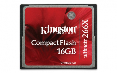 Kingston CompactFlash Ultimate 266x 16GB (CF/16GB-U2)
