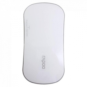 RAPOO T6-W wireless optikai fehér egér (142032)