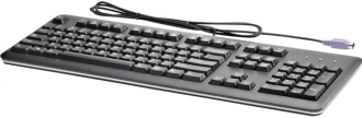 HP Vezetékes Billentyűzet PS2, Magyar Fekete (QY774AA#AKC)