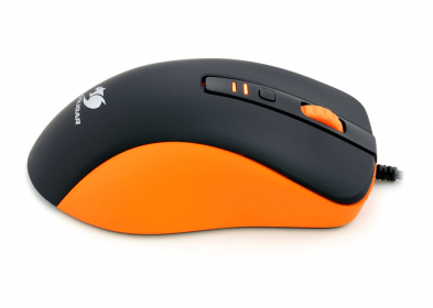 COUGAR 300M USB optikai narancs-fekete gamer egér(3M300WOO.0001)