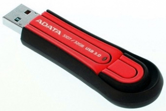ADATA S107 32GB Pendrive Piros(AS107-32G-RRD)