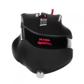 MARS MM4 USB lézer fekete gamer egér