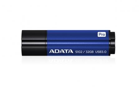 ADATA S102 PRO Pendrive 32GB Titanium kék (AS102P-32G-RBL)