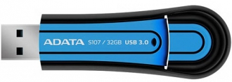 ADATA S107 32GB Pendrive Kék (AS107-32G-RBL)