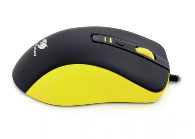 COUGAR 300M USB optikai sárga-fekete gamer egér (3M300WOY.0001)