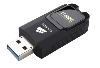 Corsair USB Flash Voyager Slider X1 128GB (CMFSL3X1-128GB)