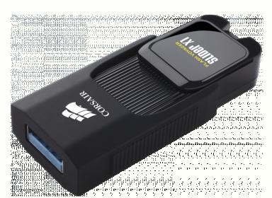 Corsair USB Flash Voyager Slider X1 16GB (CMFSL3X1-16GB)