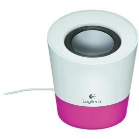 LOGITECH Z50 Multimedia Hangfal Magenta-fehér (980-000805)
