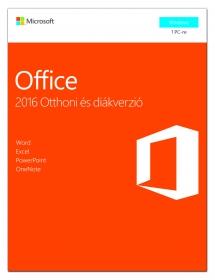 Microsoft Office 2016 Otthoni és diákverzió (79G-04634)