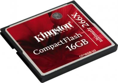 Kingston CompactFlash Ultimate 266x 16GB (CF/16GB-U2)