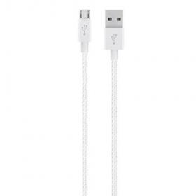 Belkin Premium Mixit fehér micro USB kábel (  F2CU021BT04-WHT)
