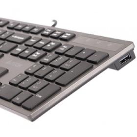 A4Tech KV-300H USB angol billentyűzet  (A4TKLA39976)