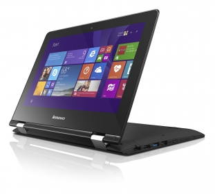 Lenovo YOGA 300 11'' 80M1007HHV Fekete Notebook