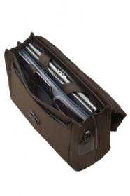 Samsonite Spectrolite Briefcase 2 Gussets 16 Tabacco Notebook Táska  (80U-013-007)