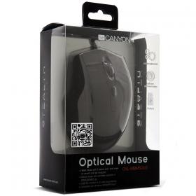 CANYON CNL-MBMSO02 USB optikai fekete egér