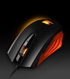 COUGAR 200M USB optikai fekete-narancs gamer egér (3M200WOO.0001)