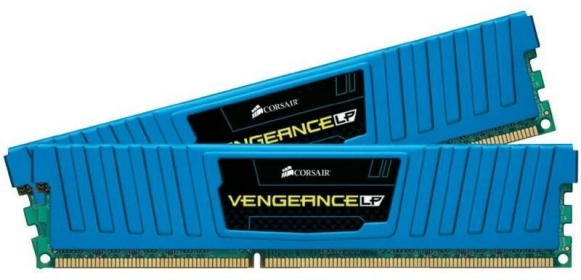 Corsair Vengeance LP 16GB (2x8GB)1600MHz DDR3 Kék (CML16GX3M2A1600C10B)