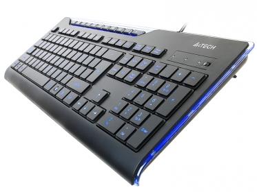 A4Tech KD-800L USB angol billentyűzet (A4TKLA42318)