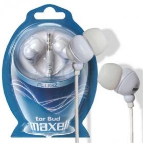 MAXELL PLUGZ Fülhallgató Fehér (303438.00.CN)