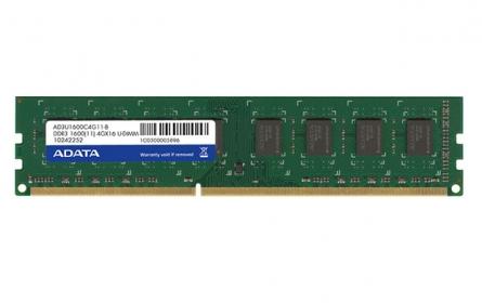 Adata DDR3 4GB 1600MHz CL11 1.5V, (AD3U1600W4G11-R)