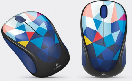Logitech M238 ''BLUE FACETS'' wireless optikai mintás egér  (910-004479)