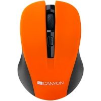 CANYON CMSW1O wireless optikai narancs-fekete egér (CNE-CMSW1O)