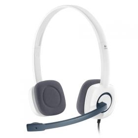 LOGITECH H150 Stereo Fejhallgató Fehér (981-000350)