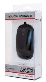 Gembird MUS-PTU-001 Phoenix USB optikai érintőgörgős fekete egér