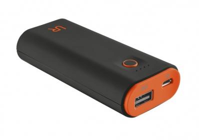 Trust Cinco  5200 Portable Charger fekete-narancs PowerBank (20493)