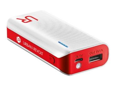 Trust 19856   4400  fehér-piros PowerBank