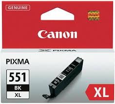 Canon CLI-551Bk XL fekete tintapatron (6443B001)